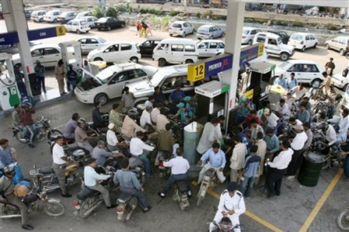 Pakistan Petrol Strike