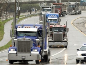 Trucking Industry photo c/o AP Photo