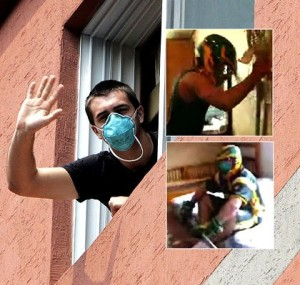 Australian Lacrosse Team Quarantined in South Korea Because of Swine Flu. Photo c/o theage.com.au