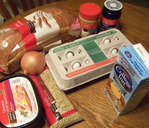 Groceries photo c/o Shannon Steele