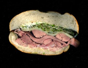 Try sprouts on a meat sandwich! Photo c/o scanwiches.com