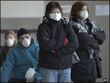 Swine Flu in Argentina photo c/o AP