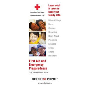 First Aid Booklet photo c/o redcrossshop.org