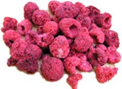 Freeze dired raspberries photo c/o usaemergencysupply.com