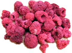 Freeze dired raspberries photo c/o usaemergencysupply.com