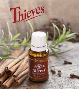 Thieves Oil photo c/o aromatherapyliving.com