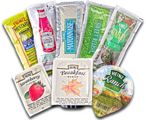 Condiment Packets photo c/o clubheinz.com