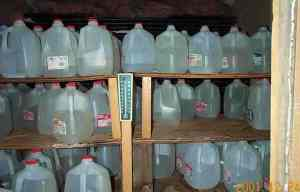 Don't Store Water in Milk Jugs! photo c/o chartertn.net
