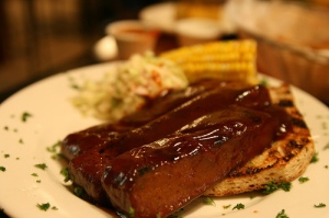 BBQ Wheat Meat Ribs photo c/o sharynmorrow