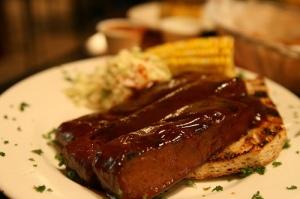 BBQ Wheat Meat Ribs photo c/o sharynmorrow