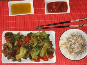 Wheat Meat Stir-fry photo c/o brbasdf