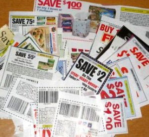 Coupons = $$$  Photo c/o insidesocal.com