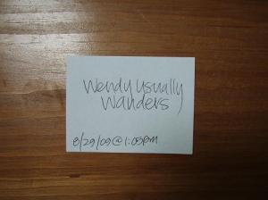 and-the-winners-wendy-usually-wanders