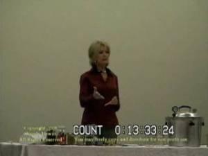 One of my food storage heroes, Wendy Dewitt