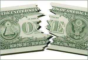 Demise of the Dollar. Photo c/o REX