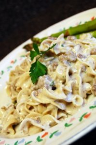 Beef Stroganoff photo c/o Creating Post-it Notes