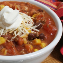 Taco Soup photo c/o His Daughter